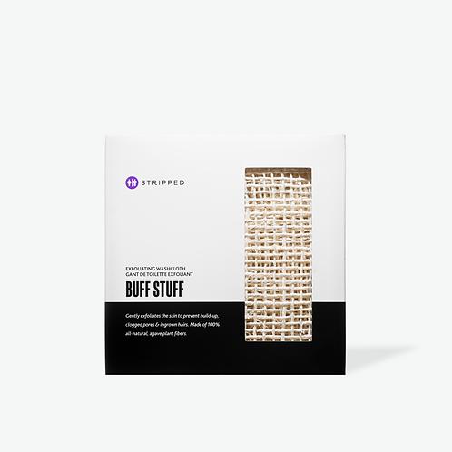BUFF STUFF  |  Exfoliating Washcloth