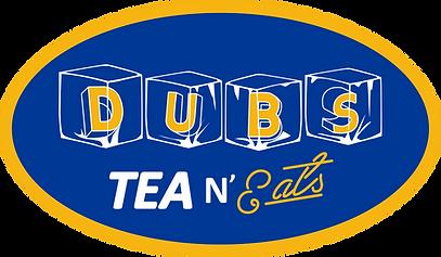 Dubs Tea & Eats Oval logo.png