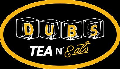 Dubs Tea & Eats oval logo (black).png