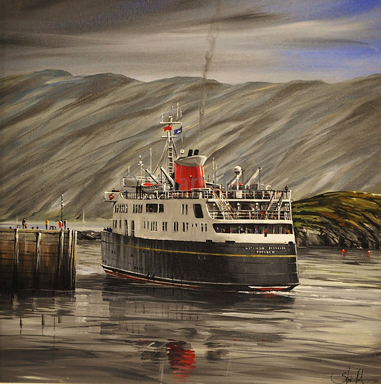Hebridean Princess - Kyle of Lochalsh'