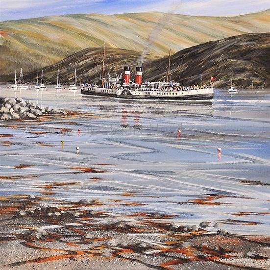 Sailing By - The Waverley at Tig