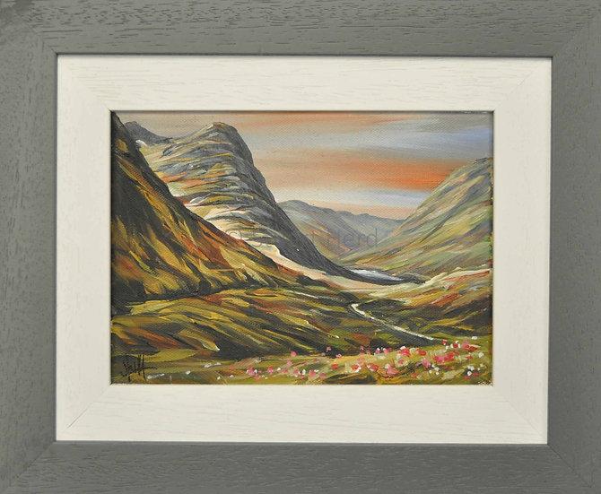 West Highland Way Morn - Glen Coe