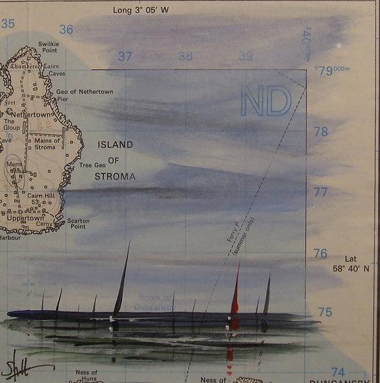 OS Map Yachts Stoma Flotilla