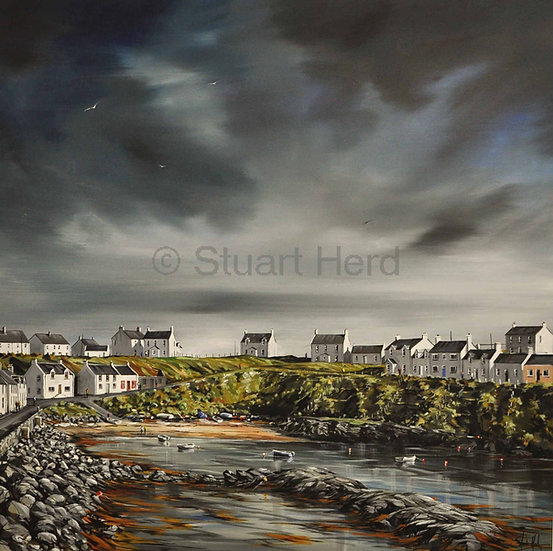 Changing Skies - Portnahaven, Islay