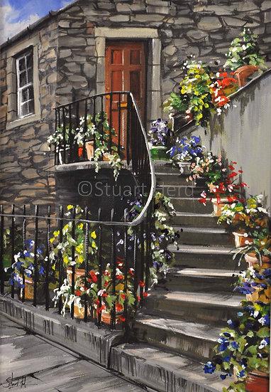 Stockbridge Steps, Edinburgh
