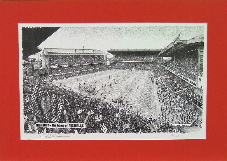 Highbury - The home of Arsenal F.C.