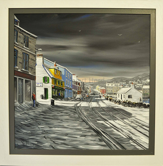 Harbour Street Snow & Shadows