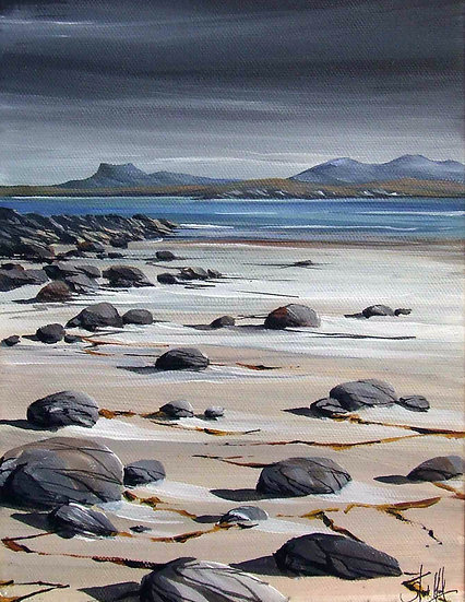 Mellon Udrigle Beach Rocks
