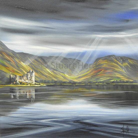 Kilichurn Castle Rays - Loch Awe