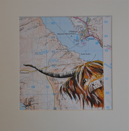 Wee Map Coo Ullapool