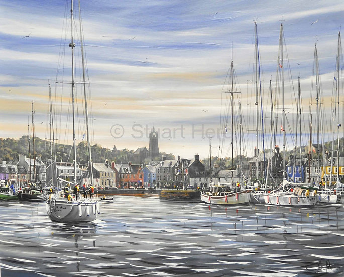 Late Afternoon, Scottish Series - Tarbert