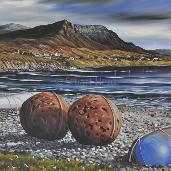 Beach Buoys To Achiltibuie