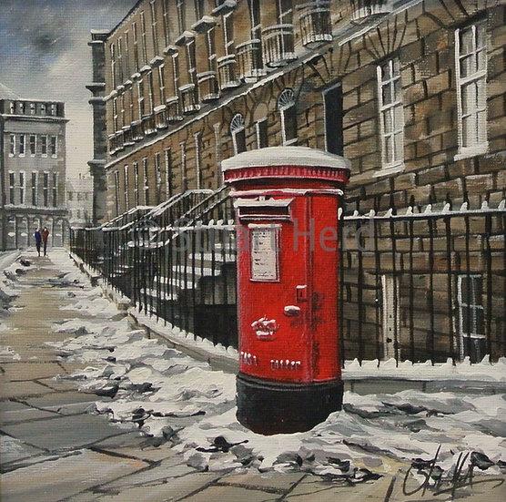 ' Winter Post ' - Edinburgh