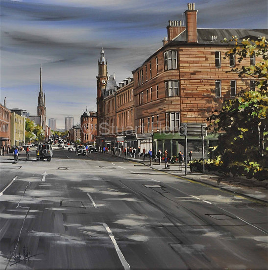 Heading In, Great Western Road - Glasgow