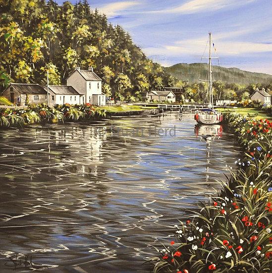 Crinan Canal Blooms