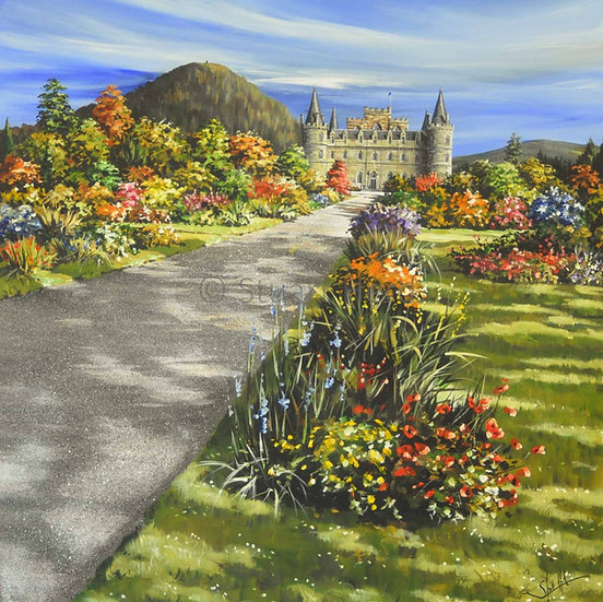 Full Bloom - Inveraray Castle