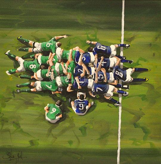 Scotland v Ireland Scrum - 2018