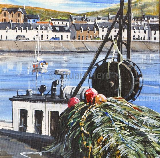 Boats & Nets - Ullapool Quay