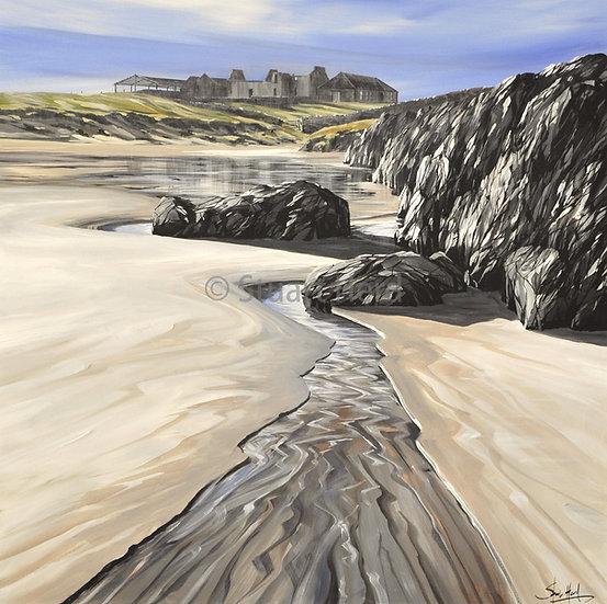 ' Sanaigmore Beach Stream ' - Islay