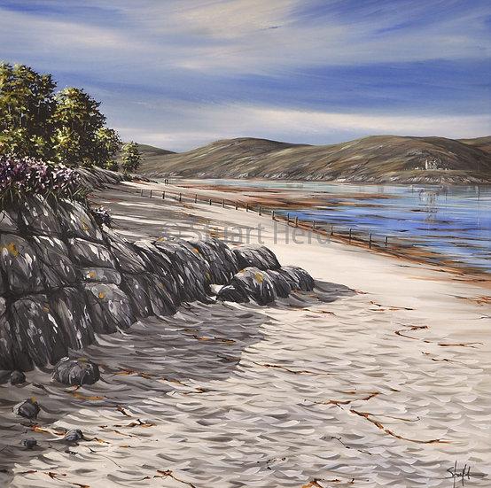 ' Morar Beach Rocks ' - Mallaig