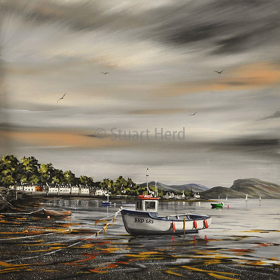 ' Shifting Light ' - Plockton