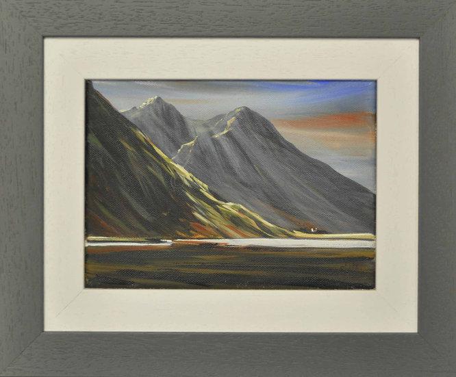 Morning Rays - Glen Coe Loch