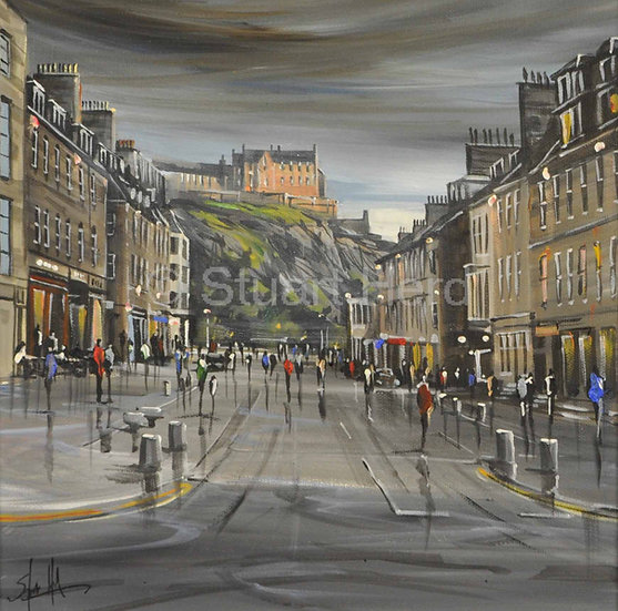After The Shower, Castle Street - Edinburgh