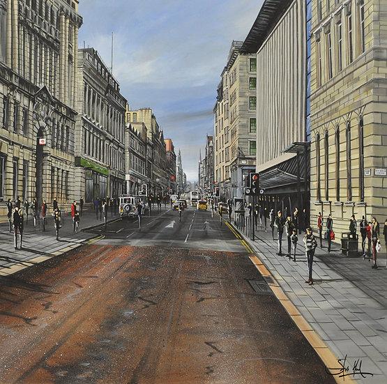 George Sq / Buchanan Street - Glasgow