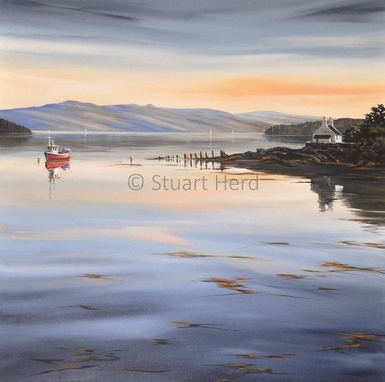 Loch Fyne Reflection