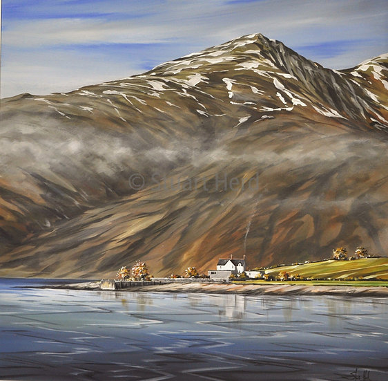 ' Headland Cottage '- Onich