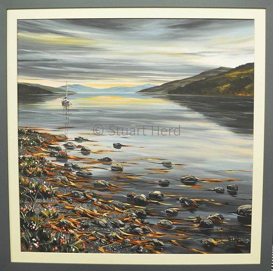 Loch Fyne Sunset - Cairndow