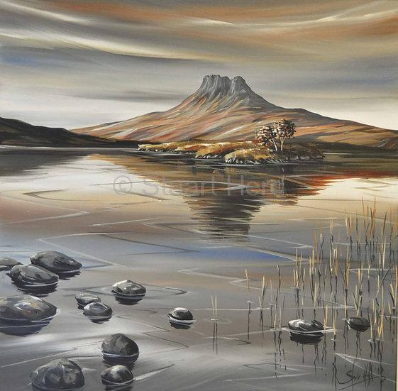 Lochan Dubh Reflections, Stac Pollaidh