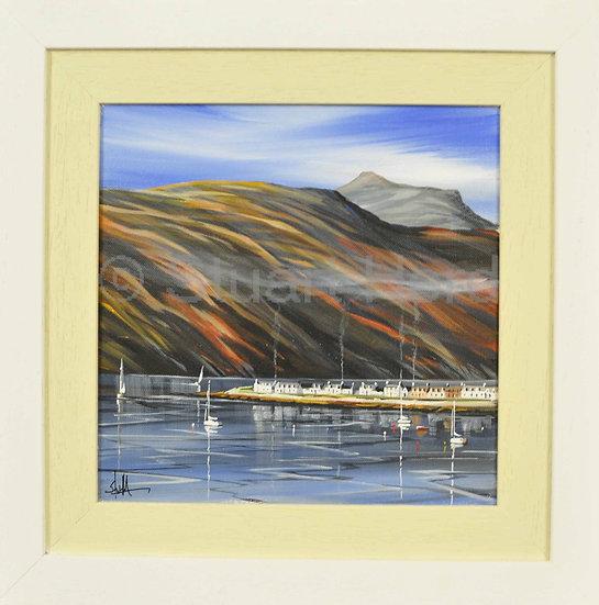 Autumn Smoke & Sails - Ullapool