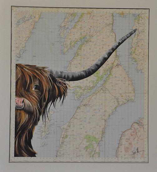 OS Map Tarbert Highlander