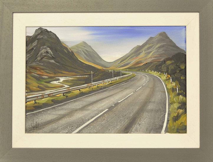 Open Road South - Glen Coe