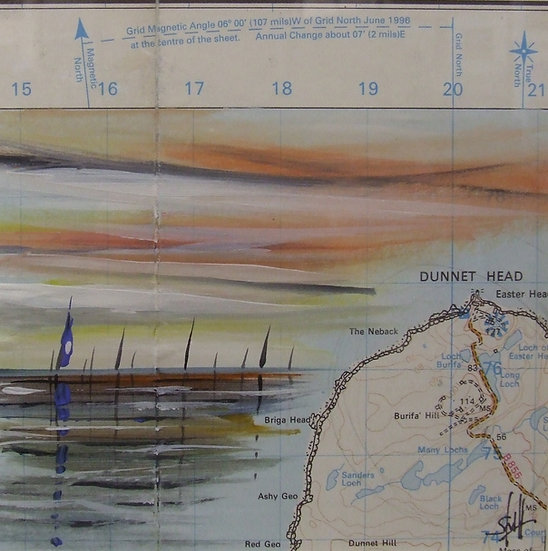OS Map Yachts Dunnet Head Sails