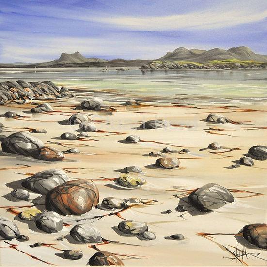 Mellon Udrigle Beach Rocks