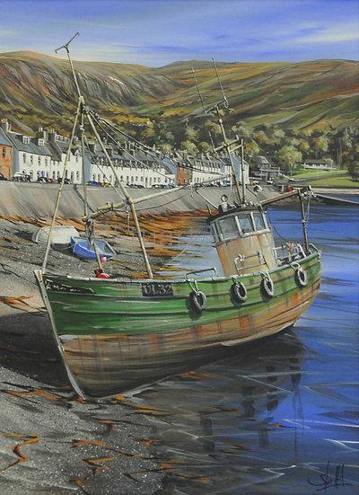Boat Repairs, Ullapool