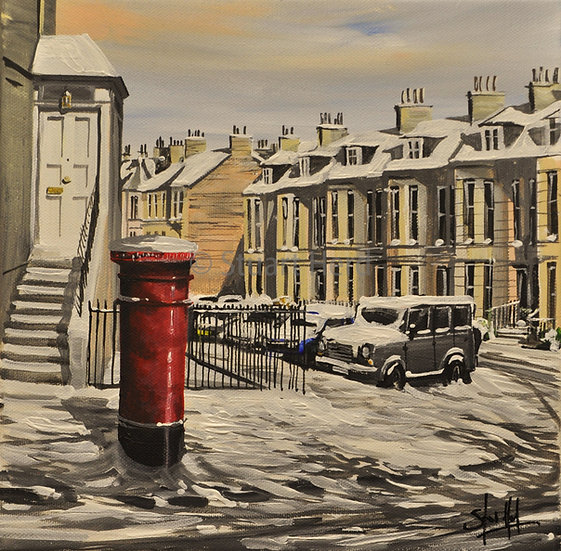 Winter Post Edinburgh II '