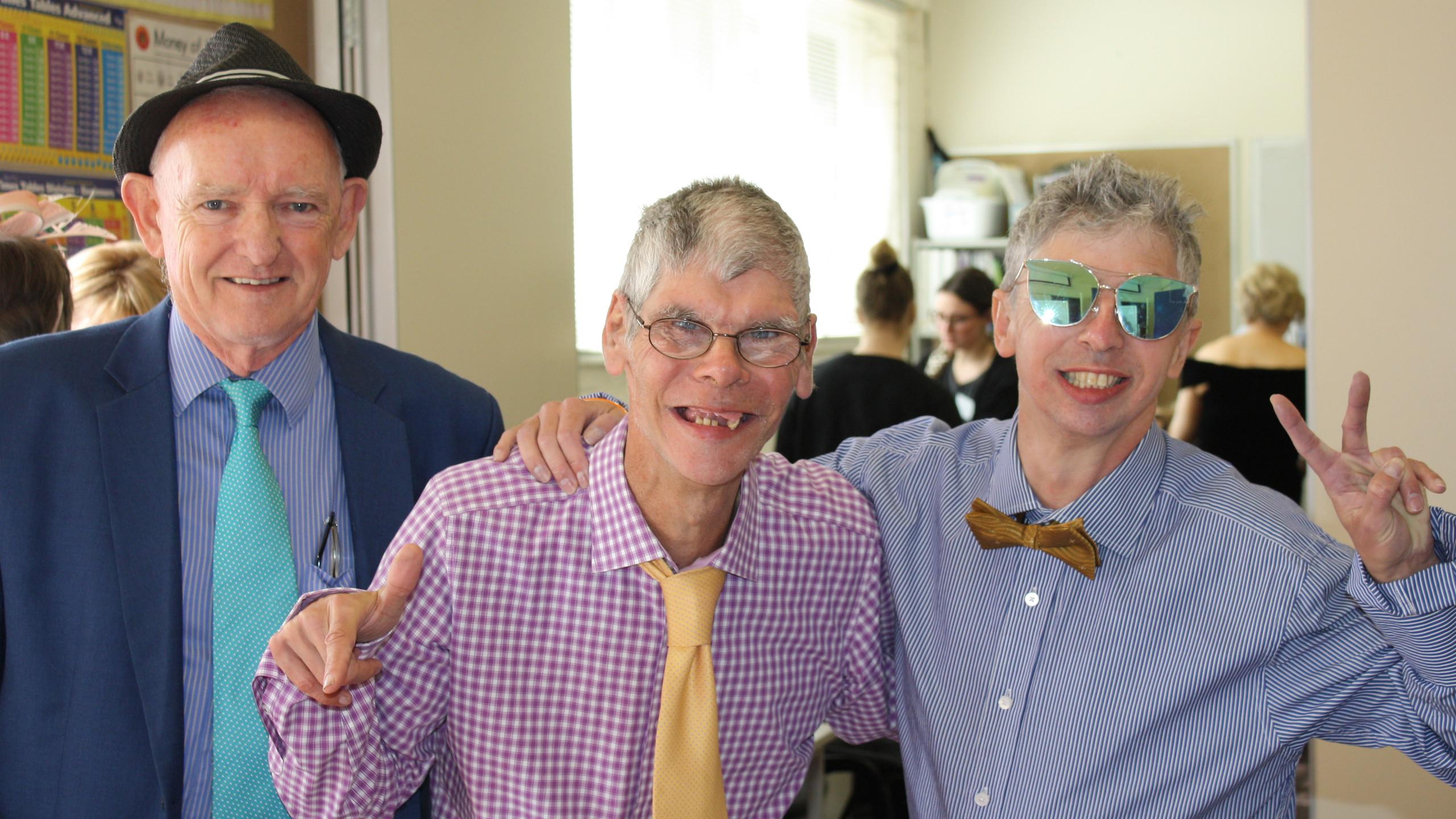 Alan, Trevor & Daniel