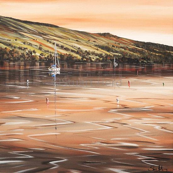 Evening Glow - Loch Tay