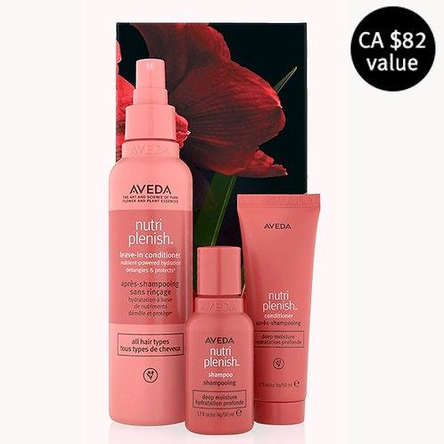nutriplenish™ deep moisture hair trio