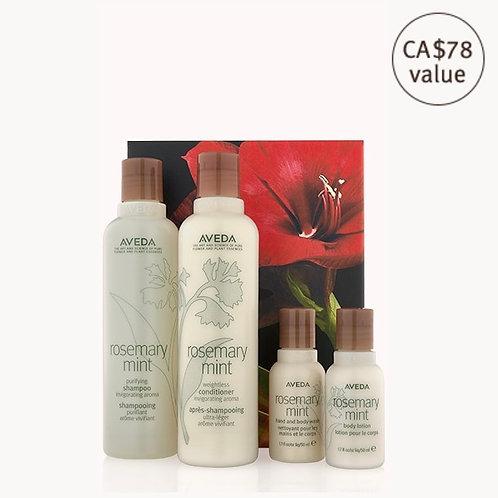rosemary mint invigorating hair and body care