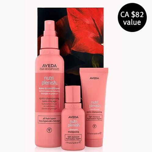 nutriplenish™ light moisture hair trio