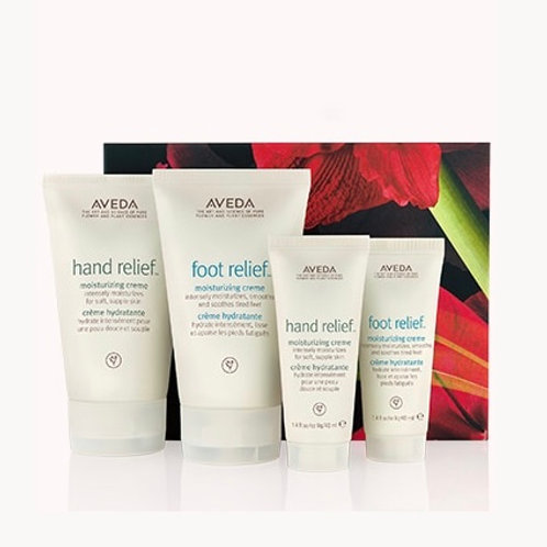 hand relief™ and foot relief™ nourishing moisturizing cremes