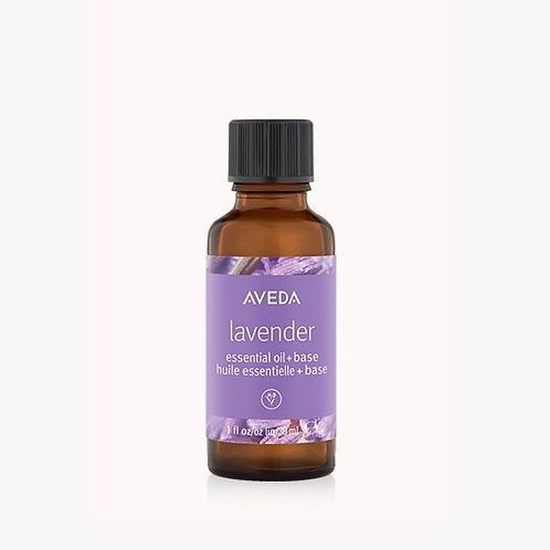 lavender essential oil + base