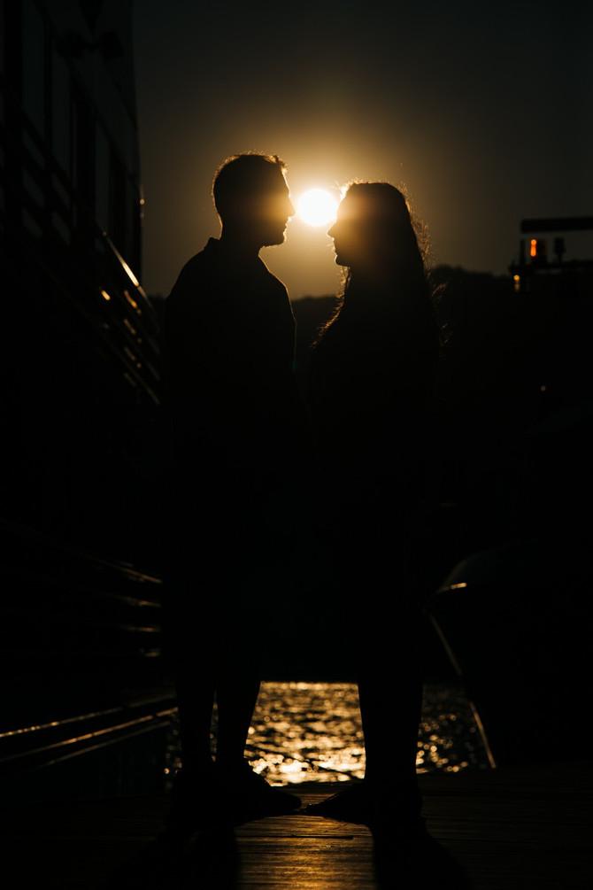 Olívia e Tiago, sessão de namoro