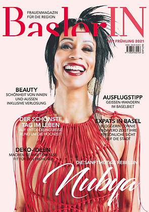 Magazin BaslerIN Frühlingsausgabe