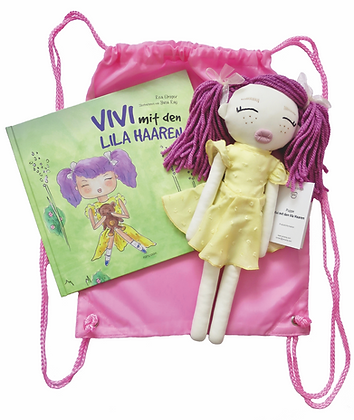 Limited Edition – Vivi Puppe inkl. Buch