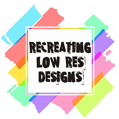 Recreating Low Red Design